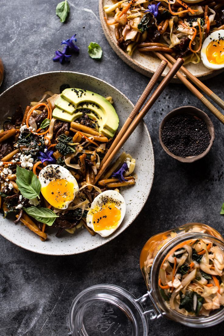Korean Braised Short Rib and Kimchi Pasta / halfbakedharvest.com @hbharvest