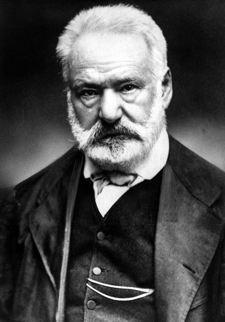 Victor Marie Hugo (26 Feb 1802 – 22 May 1885) French poet, novelist, dramatist / Romantic movement. At home, Fame 1st for Poetry then Novels & Dramas. Les Contemplations & La Légende des siècles Highly Esteemed. Outside France, best-known: Les Misérables, 1862, & Hunchback of Notre-Dame) 1831. Royalist in youth, views changed w/decades; work touches most political /social issues of his time. Buried in Panthéon. http://upload.maieutapedia.org/picture/hugo1292761086.jpg Also Wikipedia