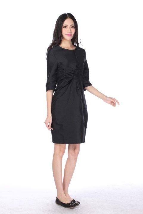 Dress SAINT GERMAIN Black licorice - EmKha