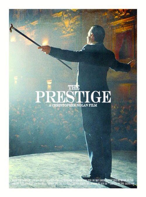 "Man's reach exceeds his imagination! ""The prestige."""