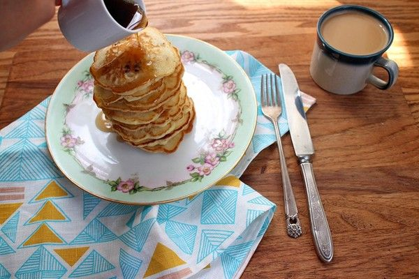 Sweet corn pancakes from Joy the Baker | Breakfast/Brunch | Pinterest