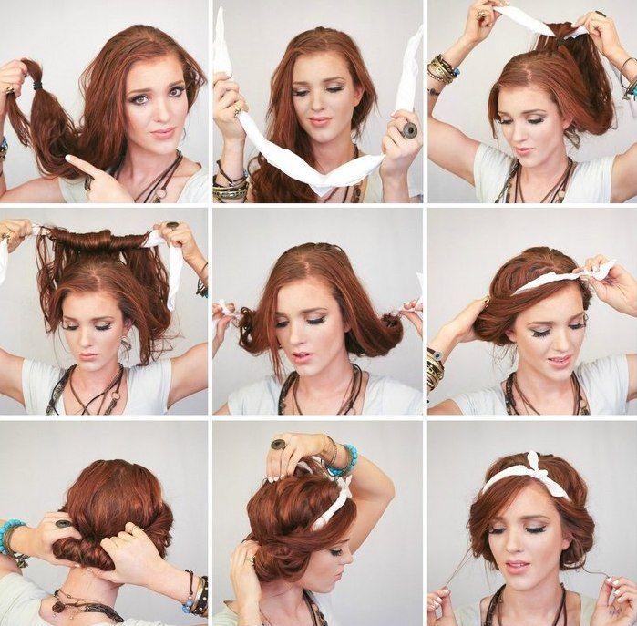 прически красивые на густые волосы