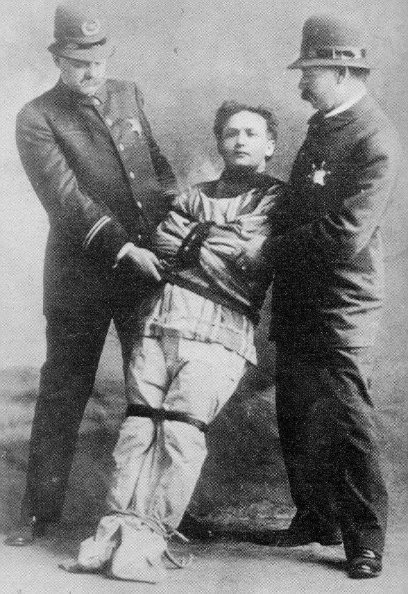image detail for pictures of harry houdini tricks photo of harry houdini