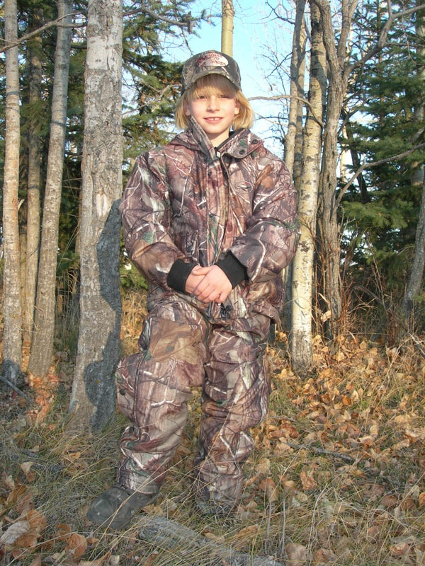 Outfitting kids for hunting