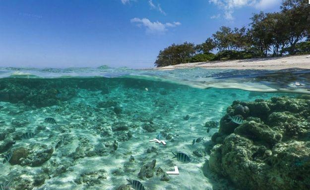 Praia no nordeste australiano: http://abr.io/5CYC