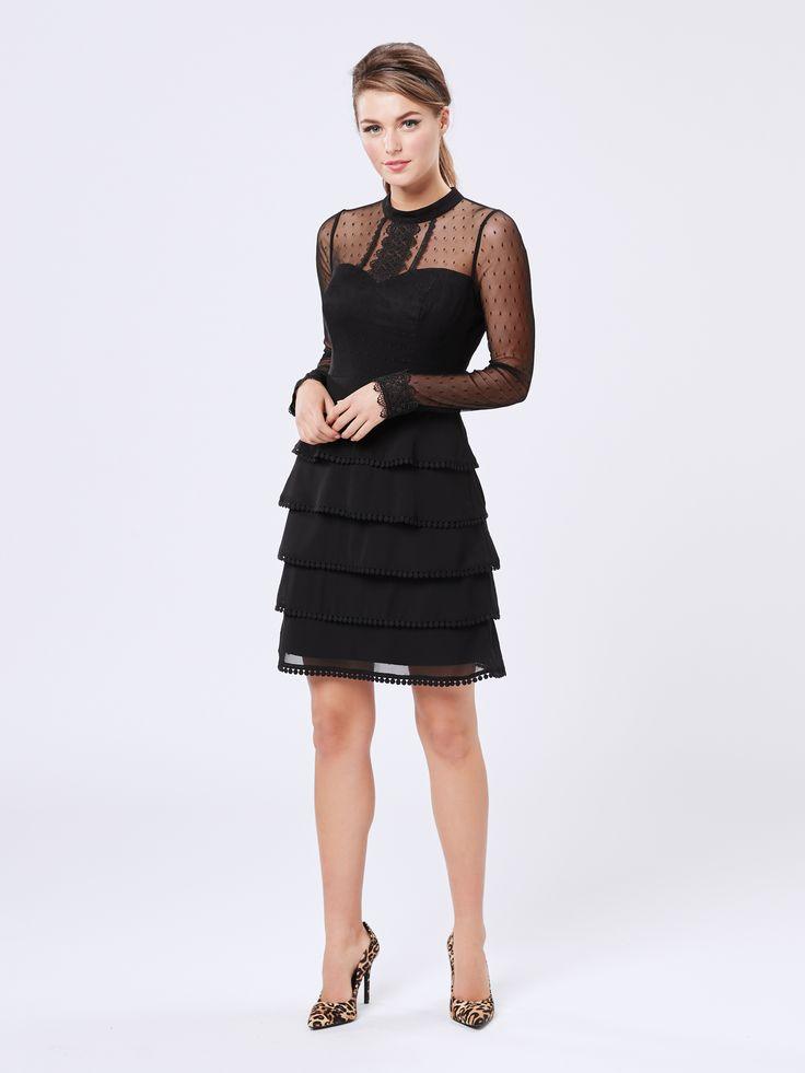 Brooklyn Dress | Black | New Arrivals