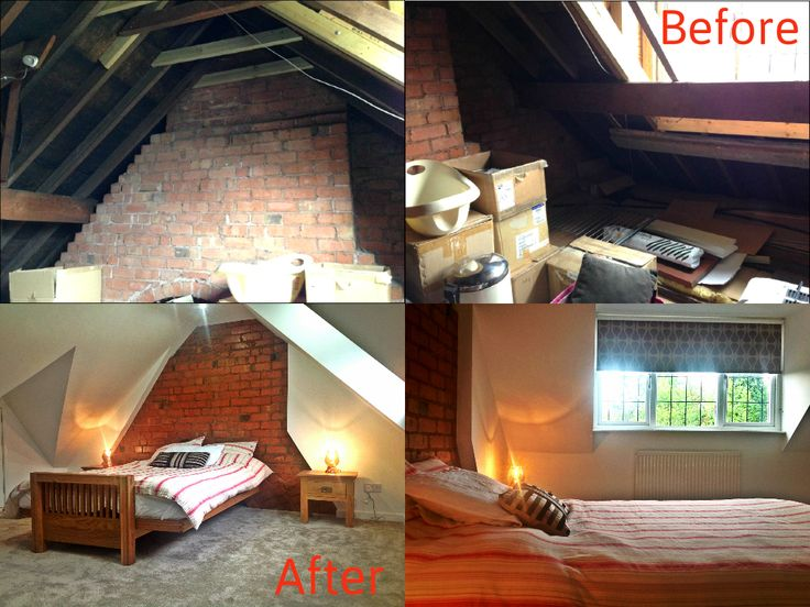 loft conversion ideas kent - Before & After in a rear dormer loft conversion Master