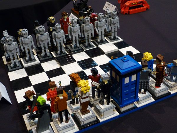 All The Good Jokes About This LEGO Doctor Who Chess Set Were Taken