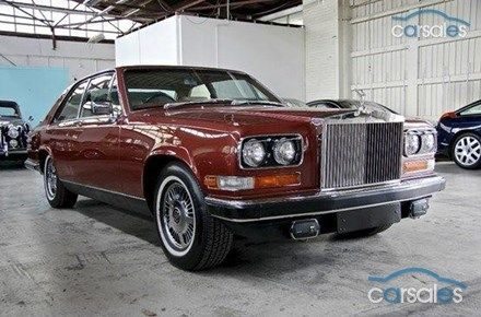 1983 Rolls Royce Camargue Turbo Hydra-Matic