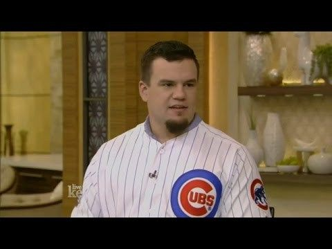 Kyle Schwarber interview 2016 How He became Baseball Hero LIVE with Kelly 11.10.2016 - http://www.truesportsfan.com/kyle-schwarber-interview-2016-how-he-became-baseball-hero-live-with-kelly-11-10-2016/