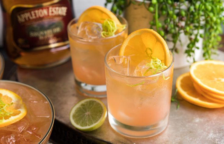 Fresh, tart, vibrant and refreshing - Appleton Estate is the perfect rum for the grown up flavour profile of this punch with its rounded citrus notes. Works great as a summer refresher with friends or an ideal food match with its dry, cleansing finish.