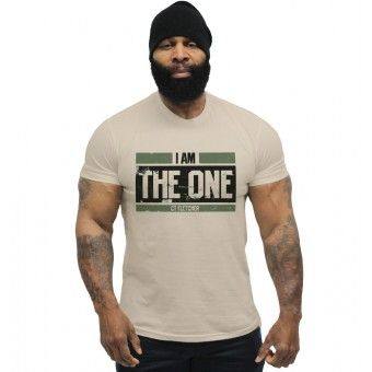 CT Fletcher - I Am The One Military Tee