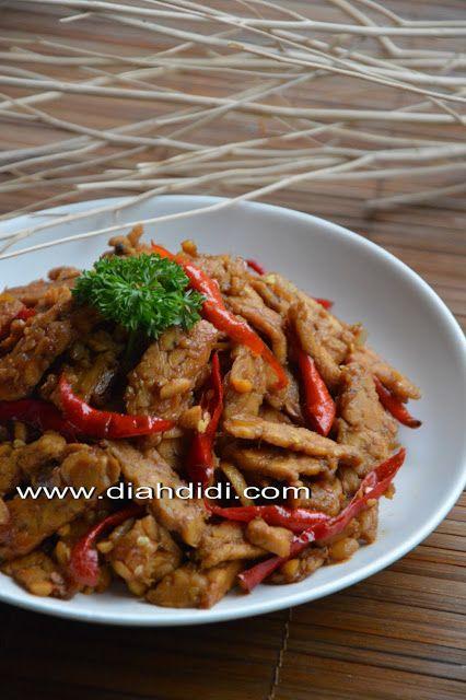 Diah Didi's Kitchen: Menu2 Rumahan Ala Jawa Tengah KEring tempe, ati bacem
