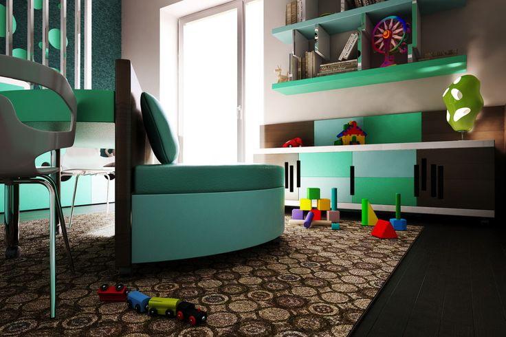 Játék az élet - gyerekszoba - Belsőépítészet, lakberendezés