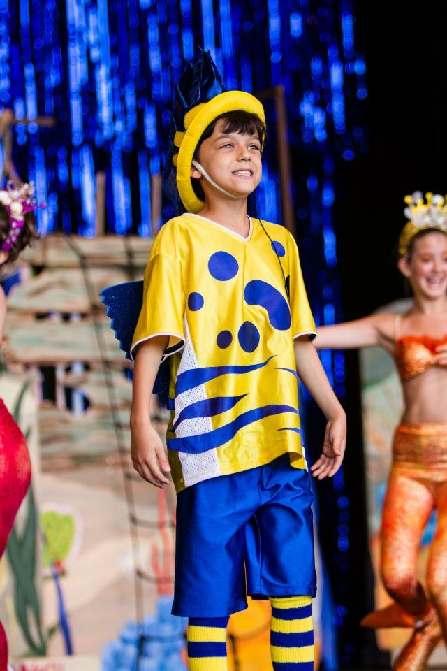 One of my favorite flounder costumes