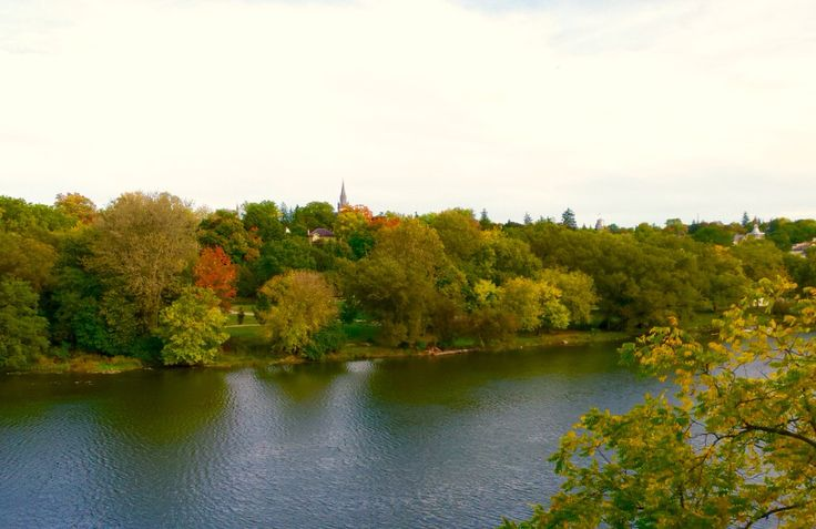 St Marys' North Ward from the Sarnia Bridge. Photo by A. K. Busby