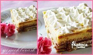 Trabzon Hurmalı Bisküvi Pastası Tarifi