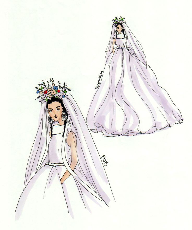 #fashionillustration #casabignami #wedding