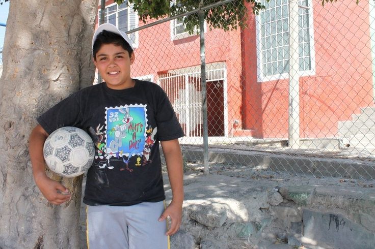 "Thirteen-year-old Jose doesn't just love sports...he helps train other children! An exceptional athlete, this sponsored child started training a team of 5- to 7-year-old children last year through Game On! Youth Sports.     ""The best thing for me is to see them working together and have respect for the opposite [team],"" he says, smiling."