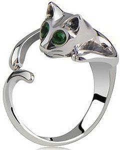 Kitten Shaped Ring