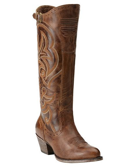 New outside the jean boots!Ariat Wanderlust Tall Cowgirl Boots - Round Toe