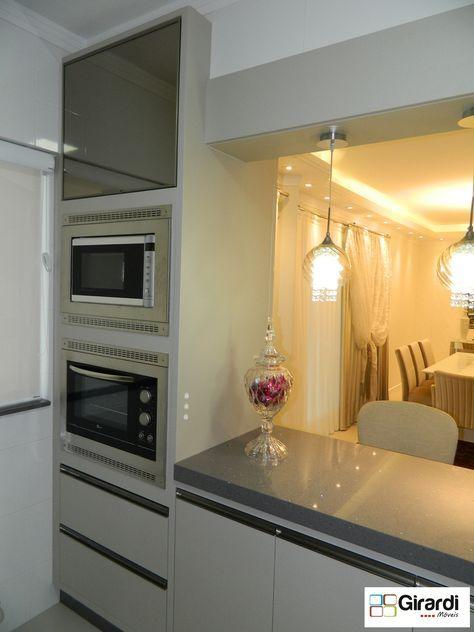 Torre quente para a sua cozinha! Faça seus móveis sob medida com a Girardi Móveis! #girardimóveis #sobmedida #torrequente #cozinhamoderna