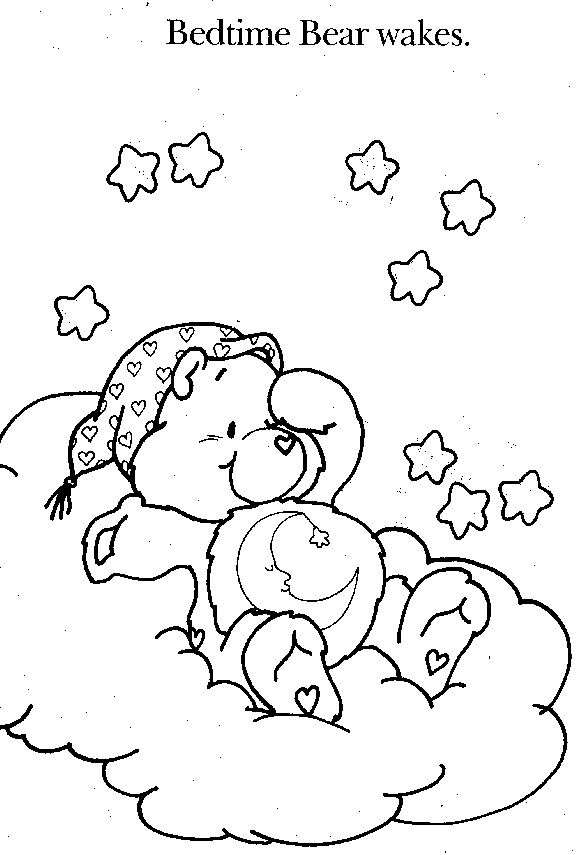 238 best images about Care Bears Coloring Sheets on ...