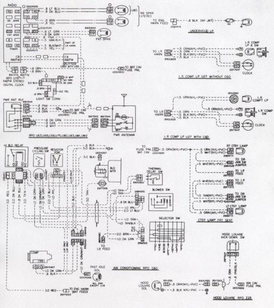 1977 Tran Am Wiring Diagram