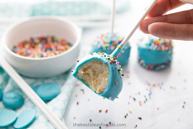 How To Make Cake Pops A Step By Step Tutorial The Best Ideas For Kids Recipe Cake Pops How To Make Cake Pop Recipe Easy Diy Cake Pops