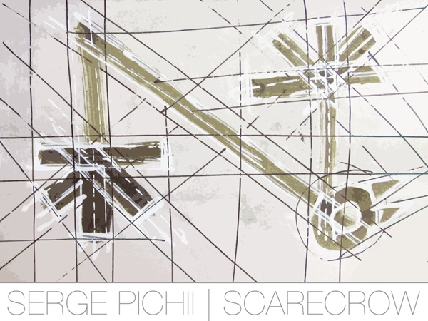 Scarecrows 01_C by Serge Pichii, via Behance