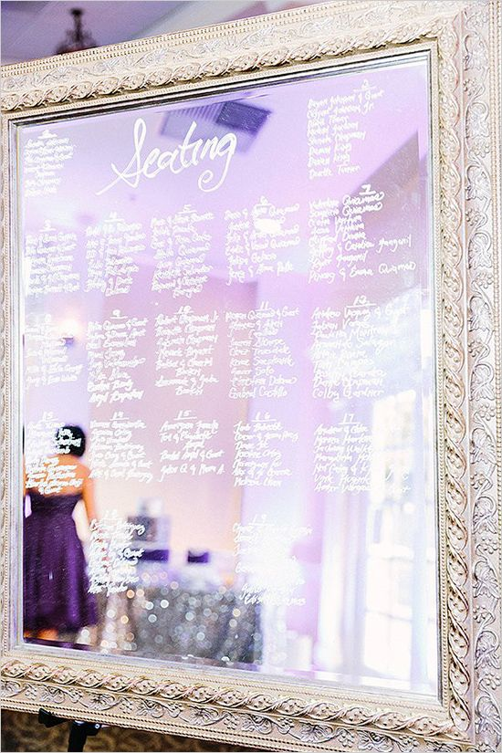 Navy and Purple Gatsby Wedding - http://www.weddingchicks.com/2014/09/04/navy-and-purple-gatsby-wedding