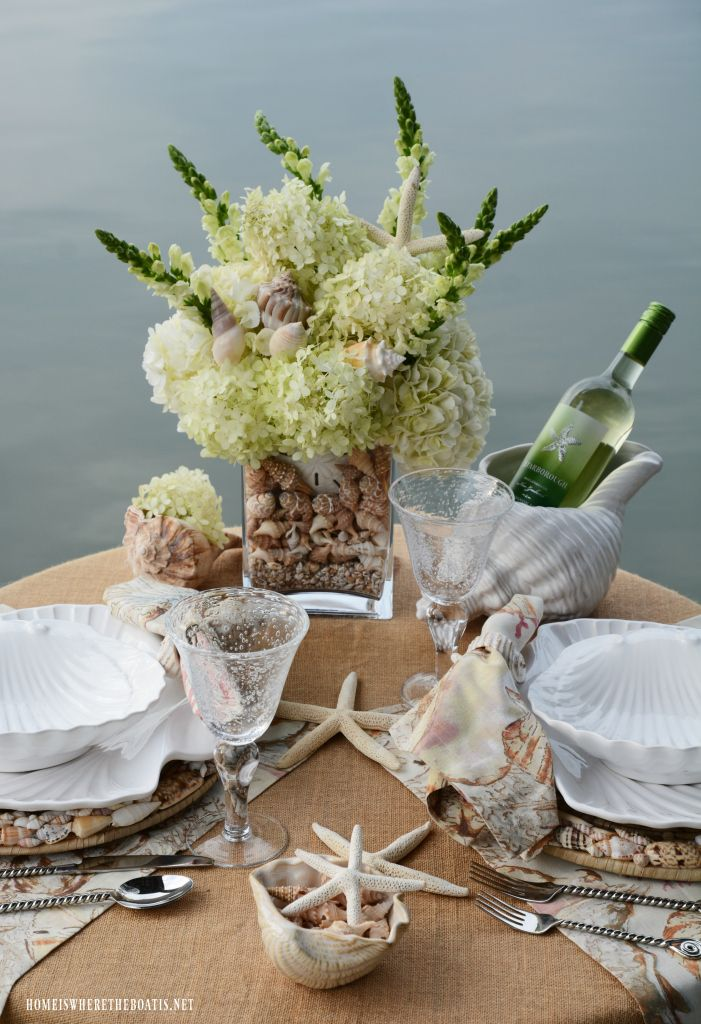 Dockside Lakeside And Seaside Table For Two Summer Dining Summer Tables White Wedding Table Setting