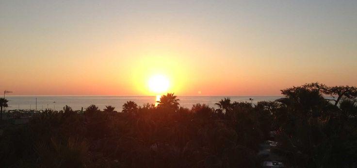 L'alba del camping Don Antonio, Giulianova. Villaggio sul mare d'Abruzzo