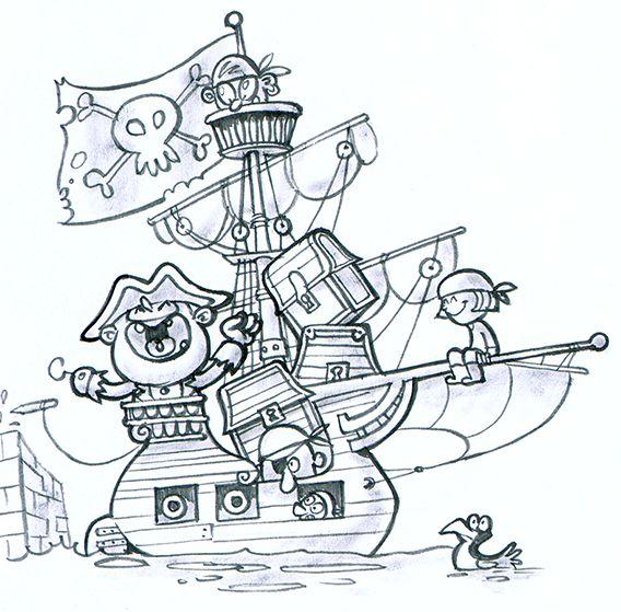 La fièvre du chocolat - Gaufrette est une jeune pirate. Elle fait partie de l'équipage du redoutable Capitaine Manchocolat. Elle va vous raconter l'histoire de celui que vous adorez boire avec du lait : le cacao.