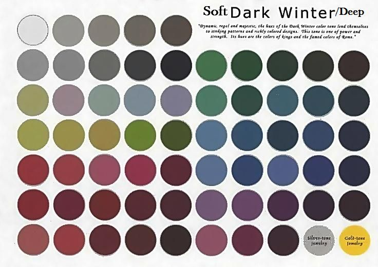Soft Deep Winter : with a drop of gray