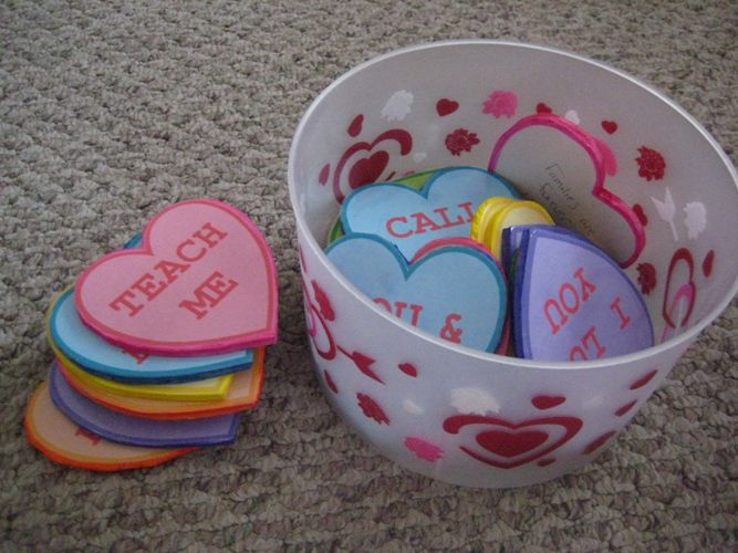SINGING TIME IDEA: Conversation heart Primary Singing Time