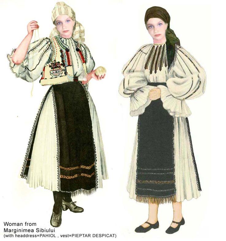 RomanianMuseum.com: Romania Folk Natioanl Ethnic Popular Costumes of Sibiu