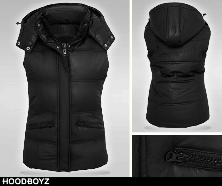 HOT DEAL  Urban Classics Ladies Shiny Hooded Vest only 21,15 € (-58%) Order here ➡ http://bit.ly/1T3ApD8