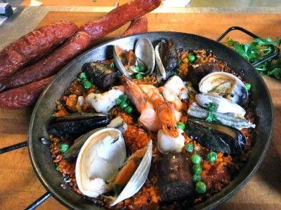 Seafood Paella Marinara. I finally found the Puerto Rican version of Paella.