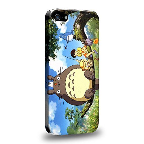 Case88 Premium Designs My Neighbor Totoro 0668 Protective Snap-on Hard Back Case Cover for Apple iPhone 5 5s