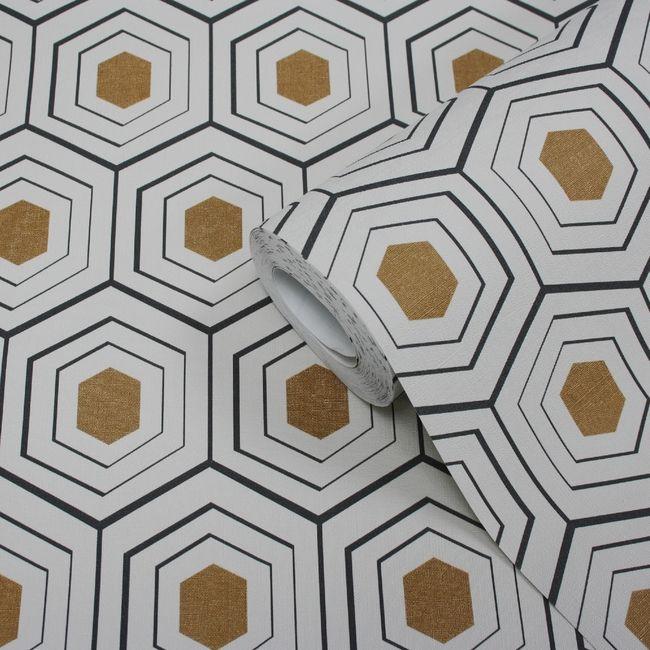 Tapeta Winylowa Na Flizelinie Draba Zlota Tapety Dekoracyjne Castorama Textured Wallpaper Diy Wallpaper Wallpaper