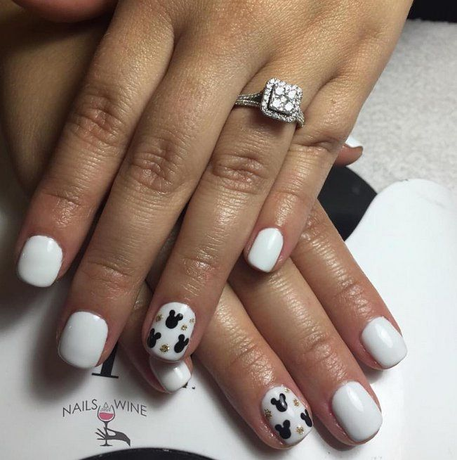 Makeup, Beauty, Hair & Skin | These Disney Nail Art Ideas Will Inspire Your Next Magical Manicure | POPSUGAR Beauty