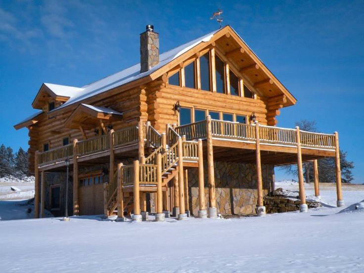 25 best images about log homes cabins on pinterest for South dakota home builders