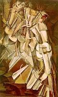 Marcel Duchamp - Nude Descending a Staircase, 1912