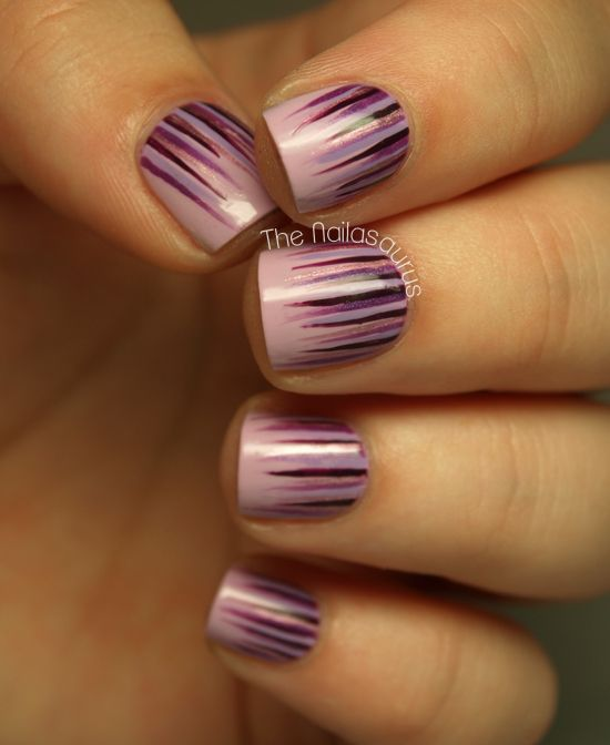 The Nailasaurus: Waterfall Nail Art Tutorial
