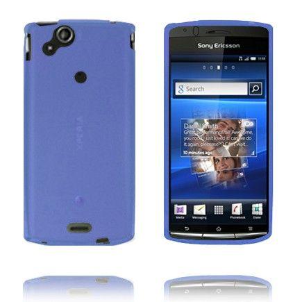 Soft Shell (Blå) Sony Ericsson Xperia Arc Deksel