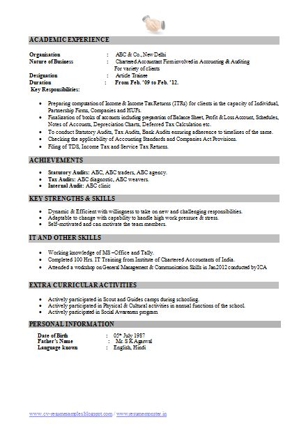 free resume templates best examples for all jobseekers - Professional Resume Samples In Word Format