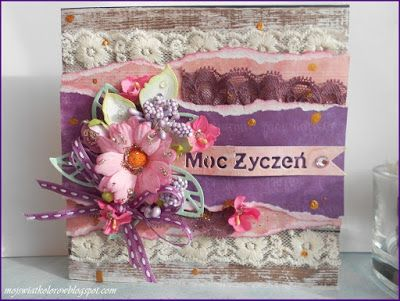 Mój świat kolorów...: Z kwiatami....