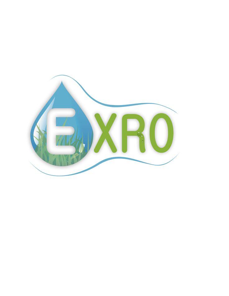 Logo Exro, Empresa tratamiento de aguas. Segundo Puesto.