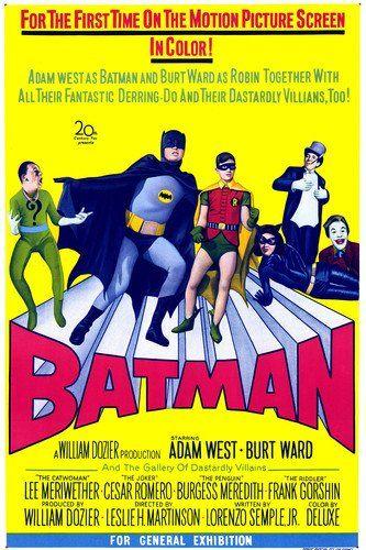 Adam West Burt Ward Lee Meriwether Frank Gorshin Burgess Meredith and Cesar Romero in Batman 24x @ niftywarehouse.com #NiftyWarehouse #Batman #DC #Comics #ComicBooks